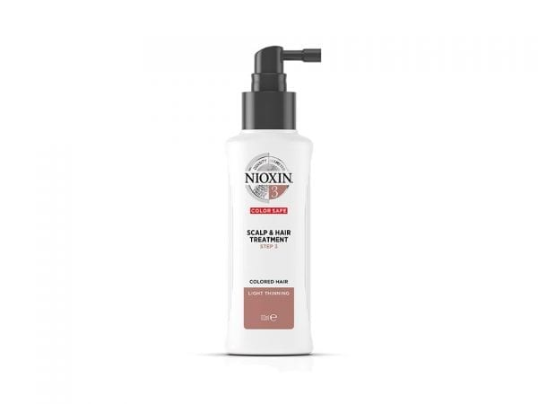 Nioxin 3-part System 3 Scalp & Hair Treatment for Coloured Hair with Light Thinning 100ml