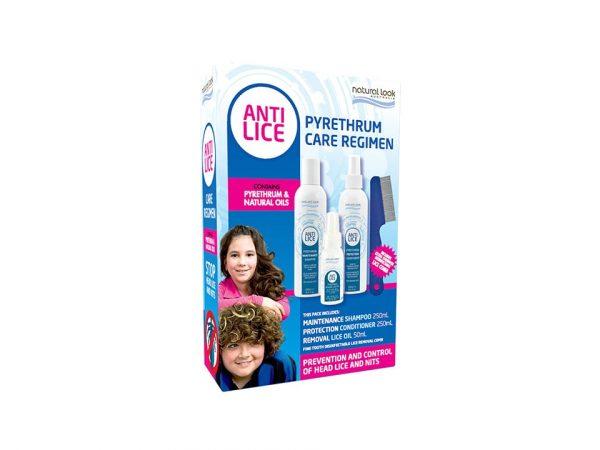 Natural Look Anti Lice Pyrethrum Care Regimen pack