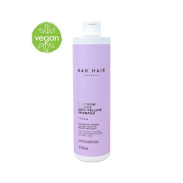 Nak Platinum Blonde shampoo