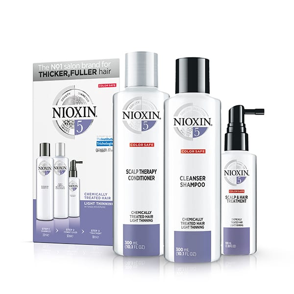 Nioxin system number 5 trio pack