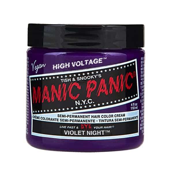 Manic Panic Violet Night colour cream