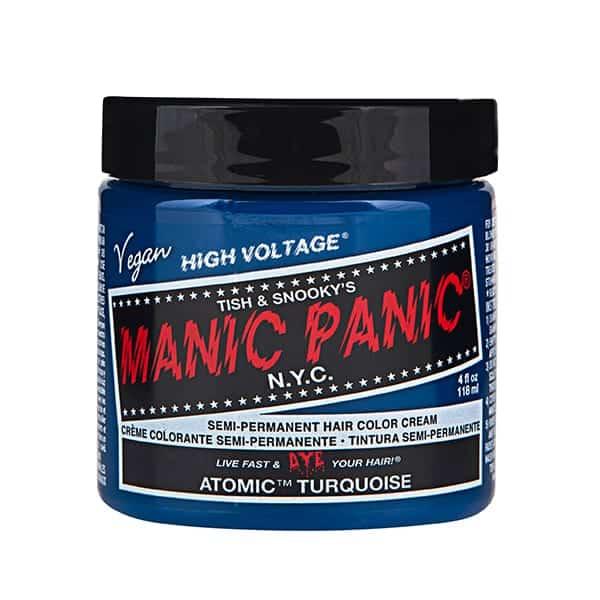 Manic Panic atomic turquoise colour cream
