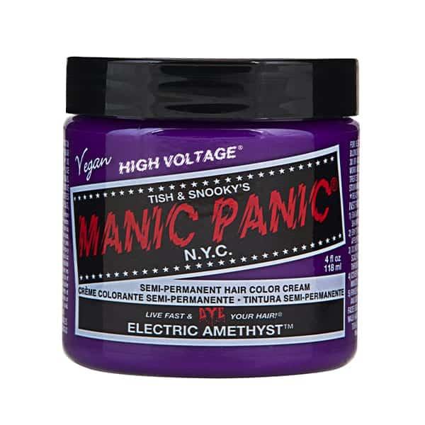 Manic Panic electric amethyst colour cream