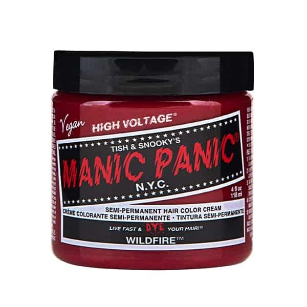 Manic Panic wildfire colour cream