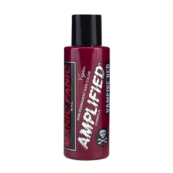 Manic panic vampire red amplified bottle color cream