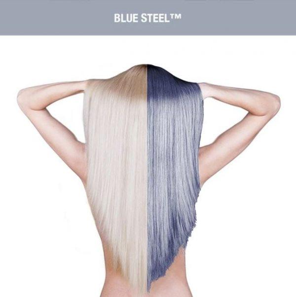 Manic Panic Blue Steel Hair