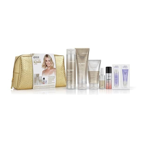 Joico Blonde Life 7 piece Gift Bag