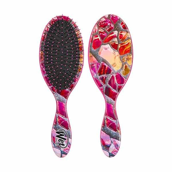 Wet Brush Magic Garden Detangler Hair Brush Pink Slate