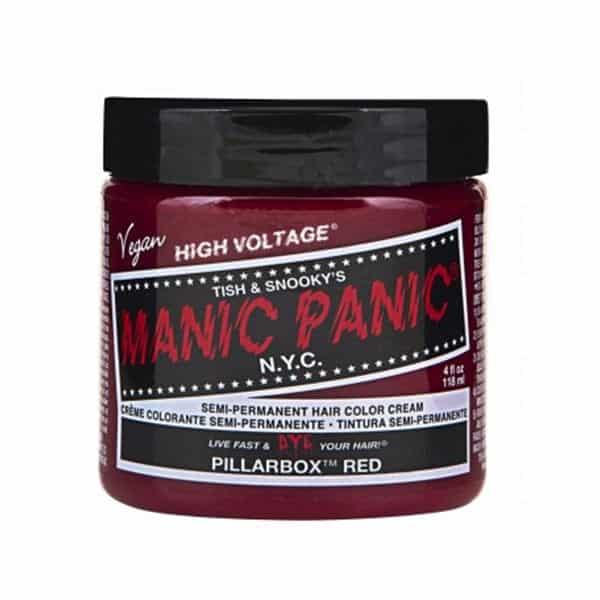 manic panic pillarbox red color creme 118ml